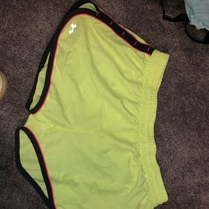 Under Armour Neon Workout Shorts